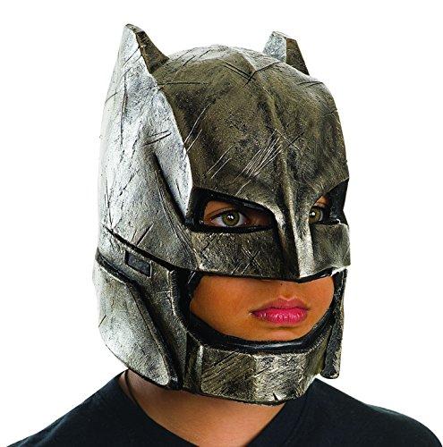 Rubie's Costume Batman v Superman: Dawn of Justice Kid's Armored Batman Full Mask