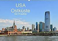 USA Ostkueste Ein Road Trip (Wandkalender 2022 DIN A2 quer): Mit diesen Bildern erwartet Sie ein fantastisches Abenteuer durch die Oststaaten der USA (Monatskalender, 14 Seiten )
