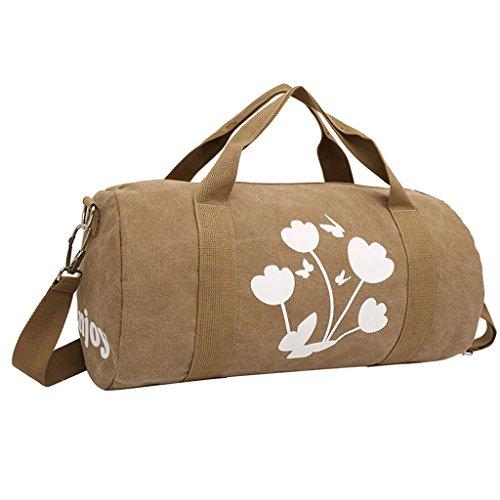 iEnjoy Brown training bag or duffel bag