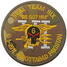patch seal team 6