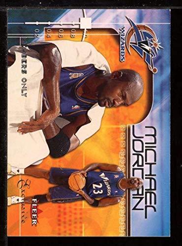 Michael Jordan MO Card 2001-02 Fleer Exclusive #109 - Unsigned Basketball Cards