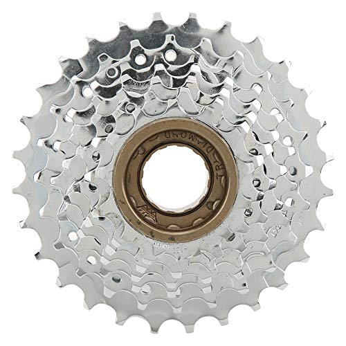 RiToEasysports 7 Speed Rotating Flywheel High Tensile Steel Mountain Bicycle Variable Speed Cassette Sprocket (13-28T)