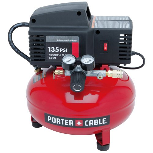 How To Use An Air Compressor >> Porter Cable Pcfp02003 3 5 Gallon 135 Psi Pancake Compressor