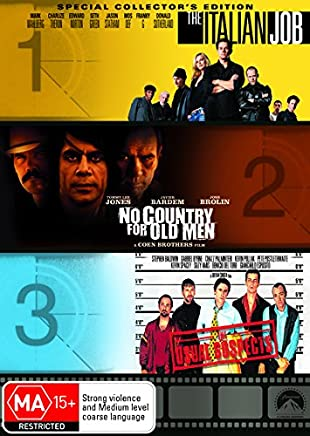 The Italian Job/No Country for Old Men/The Usual Suspects
