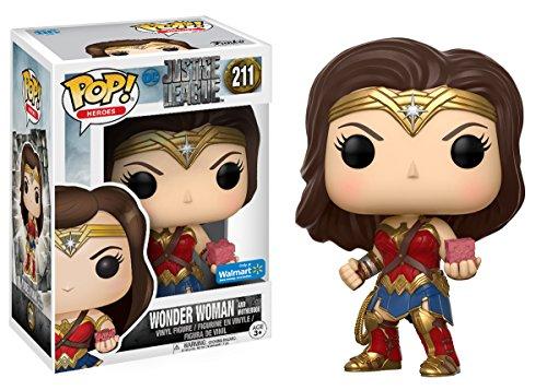 DC Funko POP! Liga de la Justicia: Wonder Woman Exclusive