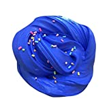 Jushye Fluffy Floam Slime, Free Slime Toy Clay Toy Stress Relief Toys Fluffy Floam Slime Scented Sensory Toy No Borax Sludge Toy for Kids Adult (8)