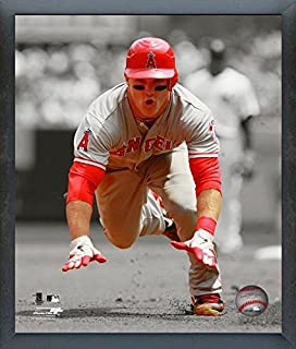 Mike Trout Los Angeles Angels Spotlight Action Photo (Size: 9