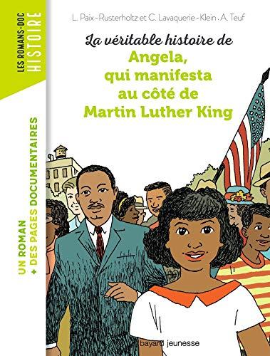 Martin Lüter Kinglə birlikdə nümayiş etdirən Angela'nın gerçək hekayəsi