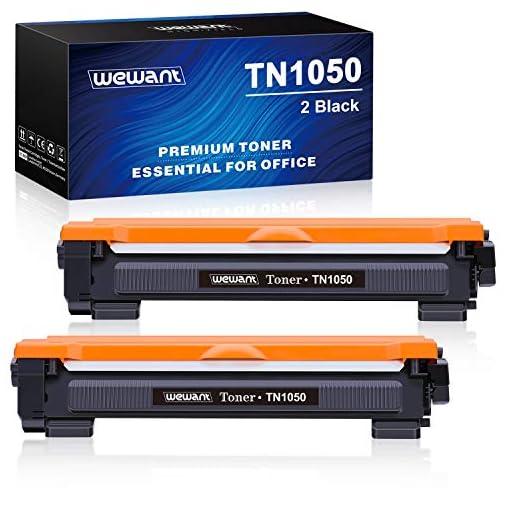 Wewant Toner TN-1050 Compatible Brother TN1050 Cartucho de Tóner para Brother HL-1110 HL-1111 HL-1112 HL-1210W HL-1202… 1