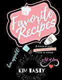 Favorite Recipes: Recipe Journal Book to Write In Favorite Recipes and Notes. Recipes-trim-size-book-to-write-in-8.5-x-11-no-bleed-126-pages-cover-size-17.54-x-11.25-inch