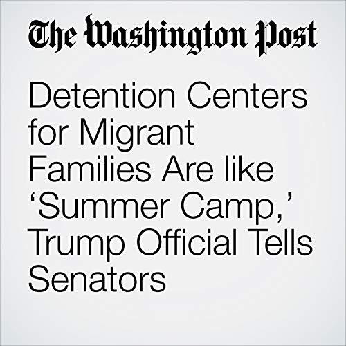 Detention Centers for Migrant Families Are like 'Summer Camp,' Trump Official Tells Senators copertina