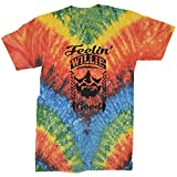 Expression Tees Mens Feeling Willie Good Mens Large Tie-Dye Woodstock