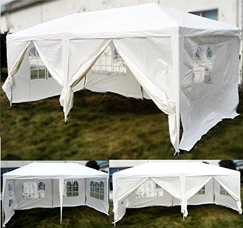 Progen wasserfestes Partyzelt für den Harten, 3 x 6 m, weiß