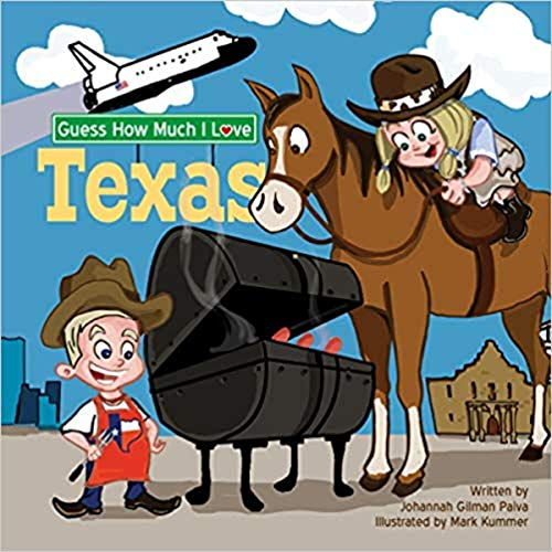 Guess How Much I Love Texas  By  cover art