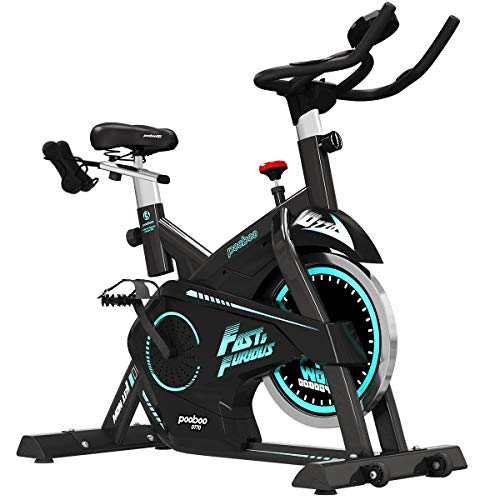 pooboo Pro Indoor Cycling Bike, Belt Drive Exercise...