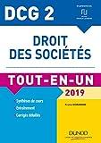 DCG 2 - Droit des sociétés 2019 - Tout-en-Un - Tout-en-Un (2019)