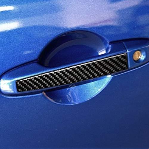 Carbon Fiber Exterior Car Door Handle Trim Cover 2pcs for Toyota 86 GT86 Scion FR-S 2012-2018