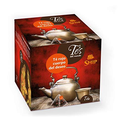 Ship - Té Rojo Cuerpo del Deseo - Infusión con 15...