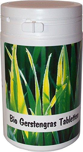 SANOS Bio Gerstengras Tabletten 200g / 500 Tabletten aus eigenem Anbau frisch vom Bodensee