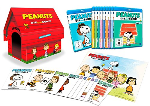 Peanuts - Die neue Serie - (Vol. 01 - Vol. 10) [Hundehütte] [Limited Edition] (10 Disc Set) [Blu-ray]