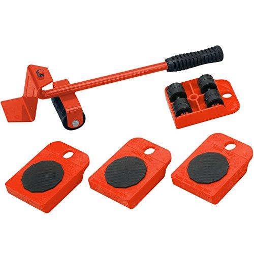 Möbel Transport Set | 5 teilig | Transportroller | Transportsystem | Möbelroller
