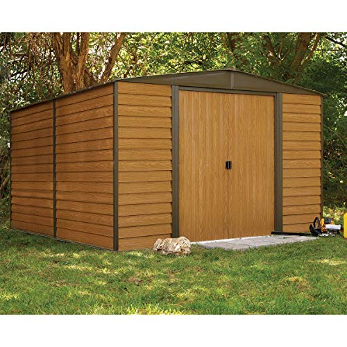 Rowlinson 10 x 12ft Woodvale Metal Shed