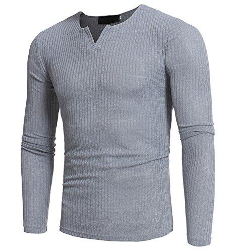 Clearance Sale ODRD Hoodie Sweatshirt Herren Herbst Winter Casual V-Ausschnitt Herren Slim Pullover Tops Bluse Jacke Trenchcoat Casual Langarm Pullover Shirt Strickpullover Strickwaren Outwear