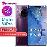 Huawei Mate 30 Pro 5G LTE No Google Play 6.53' 256GB 8GB Unlocked - Chinese Version, No Warranty (Cosmic Purple)