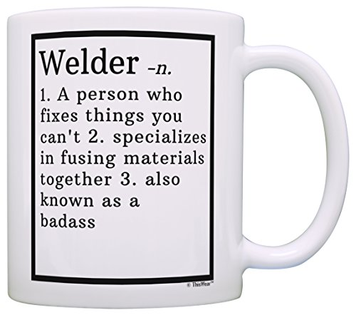 Welder Gifts Welder Definition Gifts for Welders Gift Coffee Mug Tea Cup White