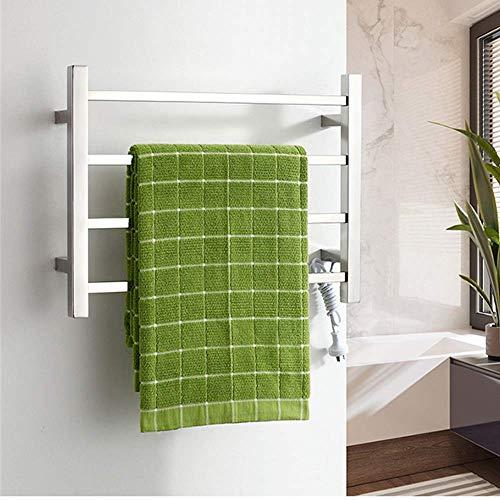XJZKA Secatoallas con calefacción, Secatoallas de Pared Secatoallas eléctrico Tendedero de baño...