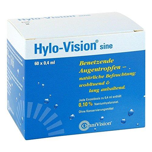 Hylo-Vision sine, 60x0,4 ml Einzeldosis-Ophtiolen