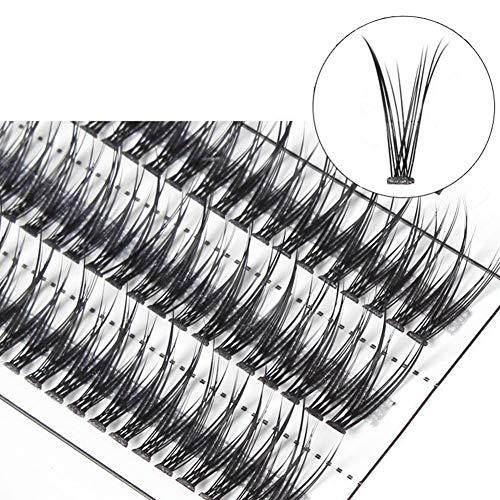 XdiseD9Xsmao Longue Traversée Souple Greffe Individuelle Faux Cils Naturel Durable Léger Oeil Cils Extension Pour Les Femmes Filles 11mm