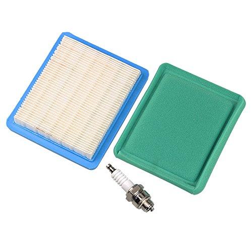 Hipa 491588 491588S 399959 Air Filter Compatible with 625e 675ex 725ex 625-675 Series TB110 TB130 TB210 TB230 LG491588JD Lawn Mower