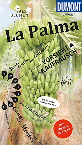 DuMont direkt Reiseführer La Palma: Mit großem Faltplan