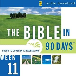 The Bible in 90 Days: Week 11: Matthew 27:1 - Acts 6:15 (Unabridged) audiobook cover art