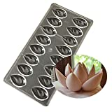 Drip Polycarbonate Chocolate Mold Mould Clear Hard Chocolate Maker Professional Candy Jelly Mould Cake Decoration Mold