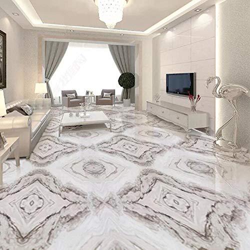 Moderne Einfache Marmorboden Tapete 3D Fliesen Boden Malerei Wohnzimmer Hotel Pvc Selbstklebende Wasserdichte Aufkleber Luxus Decor