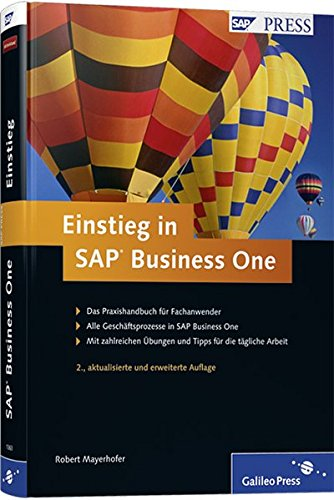 Einstieg in SAP Business One (SAP PRESS)