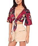 KL Decor Bikini,Flamingo Glam Women Swimwear Bandage Bikini Set Sujetador Push-Up Acolchado Traje De Baño