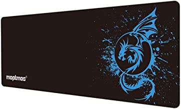 Large Mouse Pad Extended Speed Gaming Mouse Pad Fly Dragon Mouse Pad Gamer Office Computer Mouse Mat (A-Blue)