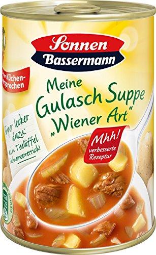 Sonnen Bassermann Gulasch-Suppe , 3er Pack (3 x 400 ml Dose)