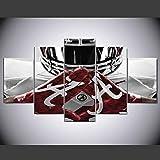 ラグビースポーツ装飾絵画マイクロジェット油絵ペンタスティック絵画リビングルーム壁画アートウォール, Color - B