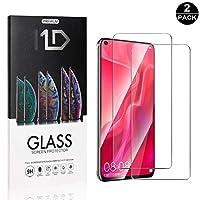 【2枚セット】Huawei Honor V20 超薄 ガラスフィルム CUNUS Huawei Honor V20 専用設計 強化ガラスフィルム 高透明度で 気泡防止 飛散防止 超薄0.26mm 液晶保護フィルム 3D Touch 対応