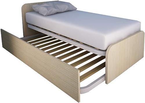 autentico en linea MOBILFINO MOBILFINO MOBILFINO CAMERETTE 964r Cama Dormitorio Diseño Personalizado con Segundo Cama extraíble  precio mas barato