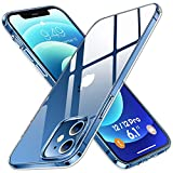 Humixx Compatible for iPhone 12 Case/iPhone 12 Pro Case [Upgraded 3.0 Military Grade Drop Test] [12X Anti-Yellowing] Clear Protective Hard PC Back and Soft TPU Bumper Cover for iPhone 12/12 Pro