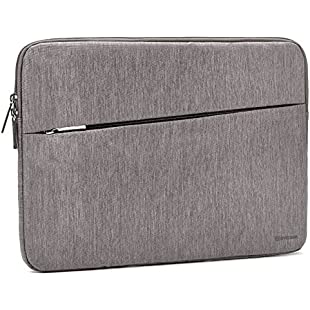 """2017 Surface Book 2 13.5"""" Sleeve, Evecase Reinforced Shockproof Laptop Chromebook Bag Case with Accessory Pocket for Microsoft Surface Book 2 13.5inch PixelSense Display - Gray"""