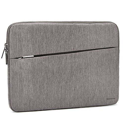 Evecase 12-13.5 inch Laptop Sleeve, Reinforced Shockproof Protective Bag Case with Accessory Pocket for MacBook Pro, MacBook Air, iPad Pro 12.9 Tablet, Microsoft Surface Laptop/Book 2 13.5 - Gray