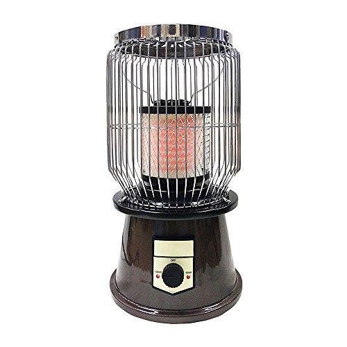 (アズイチ) Λzichi レトロヒーター (2段階温度調節 / 静音 / 転倒時自動OFF / 温度過上昇防止機能付 ) RTR-01