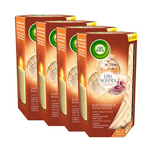 Air Wick Duft-Zierkerze Süße Versuchung 4er Pack (4 x 265g)