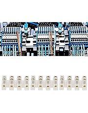 Bloque de terminales, bloque de conectores de cable de tipo pasante para electricidad doméstica para electricidad de fábrica(Four in four out)